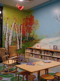 Murals in the children's room